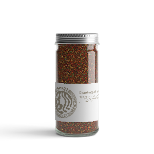 A jar of Sapi Bellu spices