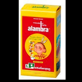 Kaffeepackung von Passalacqua der Sorte Aalambra