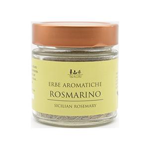 Getrockneter, aromatischer Rosmarin von den Hängen Siziliens