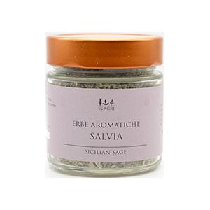 Salbei von den Hängen Siziliens, aromatisch und getrocknet